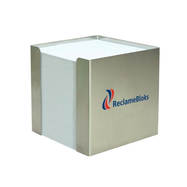 RVS kubusblok houder