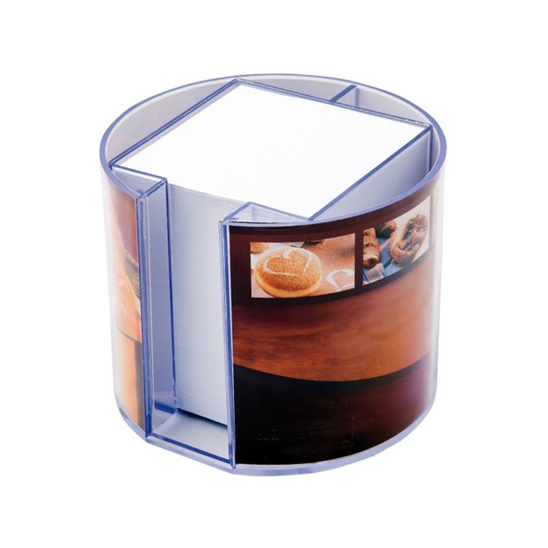 kubusblok met ronde houder